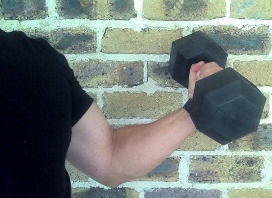 Arm Curl Left Bell