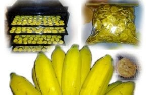 How to make healthy banana chips