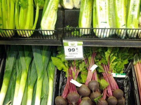 Supermarket Beetroot