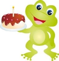 Self Sufficient Birthday Frog