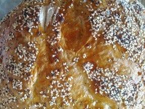 Seed on bread loaf