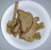 Bread scraps for chickens