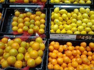 Citrus at the Supermarket