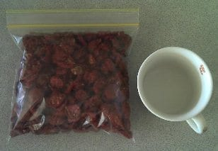 Bag of Dehydrated Cherry Tomatoes