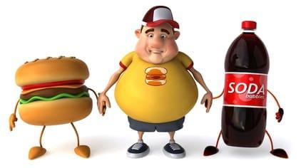 Fast food fat boy