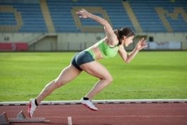 Fit athlete