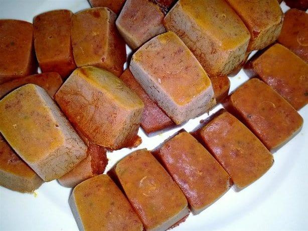 Thai Red Chilli Paste Frozen Cubes