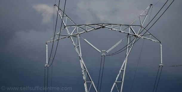 Gloomy powerlines greedy electricity companies