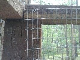 Quail Run Galvanised Staple Top Wire Mesh