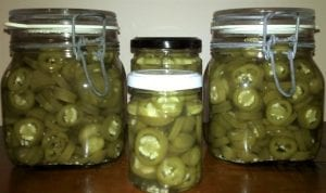 Pickled Jalapeno Chillies