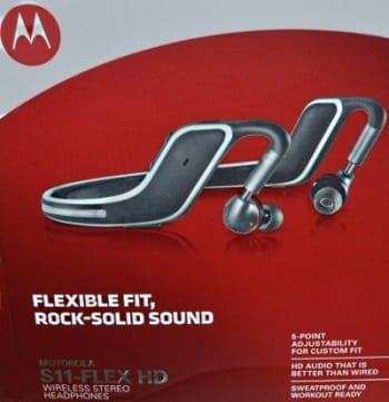 Motorola s11 flex HD Wireless Stereo Headphones front package