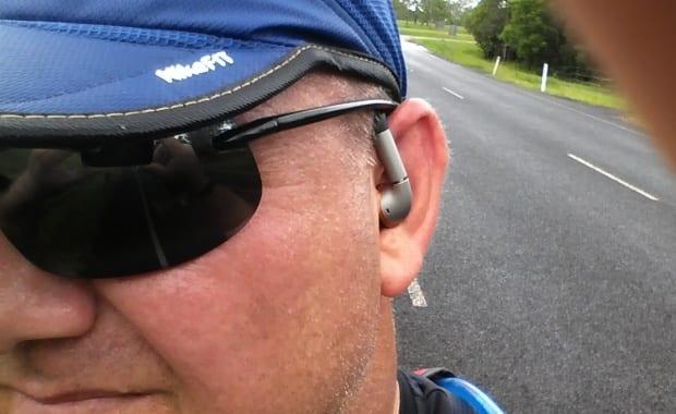 Motorola s11 flex HD Wireless Stereo Headphones in action on my head