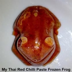 Thai Red Chille Paste Froggy