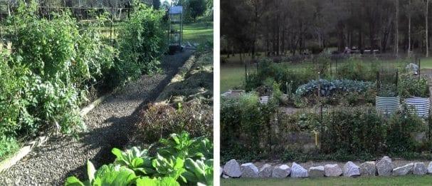 Vegetable garden bog proof