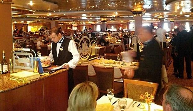 Restaurant on sea princess cruise ship 620