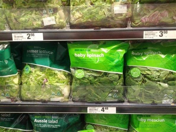 Supermarket Packet Salads