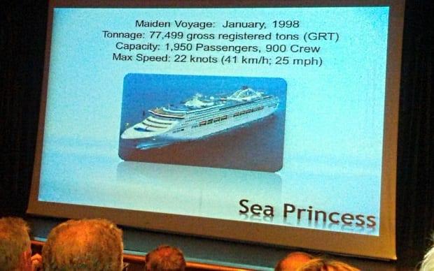 Sea Princess theatre information