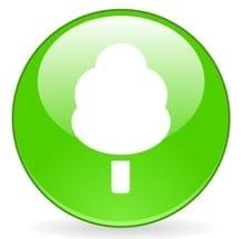 Environmental Tree Symbol