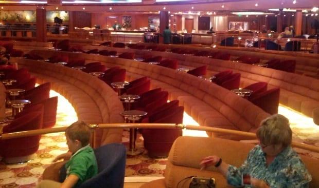 Vista theatre Sea Princess cruise ship