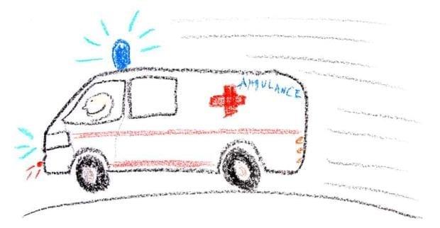 ambulance parachuting accident