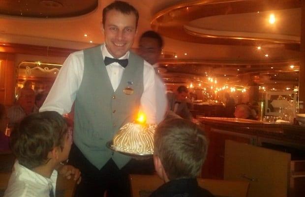 meringue bombe on Sea Princess cruise ship