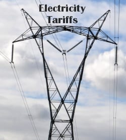 feed in tariff solar PV system power lines grid