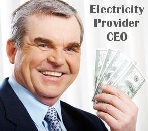 rich electricity provider ceo