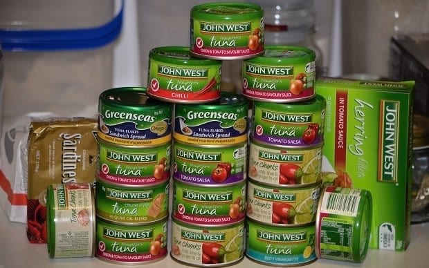 tinned protein substitution diet