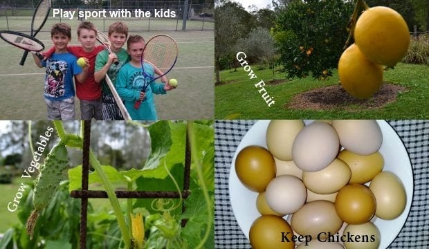 ways to save money through self sufficiency